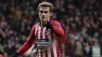 6. Antoine Griezmann (Atletico Madrid) - 4 Gol. (AP/Manu Fernandez)
