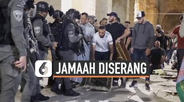 Lebih dari 100 orang jamaah tarawih Masjid Al-Aqsa terluka usai terlibat bentrokan dengan polisi Israel Jumat (7/5) malam. Bentrok dipicu interensi polisi Israel pada jamaah yang melakukan salat tarawih di bulan ramadan.