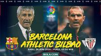 La Liga - Barcelona Vs Athletico Bilbao - Head to Head Pelatih (Bola.com/Adreanus Titus)