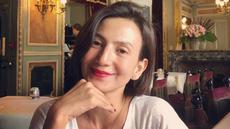 Penampilan Wanda Hamidah saat mengenakan makeup yang sederhana namun tetap terlihat memesona. (Liputan6.com/IG/@wanda_hamidah)