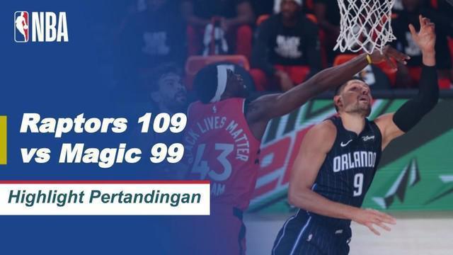 Berita Video Toronto Raptors Raih Kemenangan Atas Orlando Magic dan Belum Terkalahkan di 3 Laga Terkahir NBA