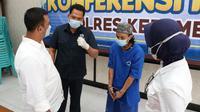 Polisi menangkap dukun cabul yang mengaku keturunan Majapahit dan punya 11 istri. (Foto: Liputan6.com/Humas Polres Kebumen)