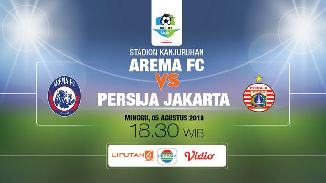 Berita Bola: Live Streaming Indosiar Arema FC Vs Persija ...