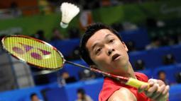 2. Taufik Hidayat (Bulutangkis Tunggal Putra) - Meraih medali emas Asian Games 2002 dan 2006. (AFP/Liu Jin)