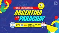 Argentina vs Paraguay (liputan6.com/Abdillah)