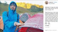 Embun di Ranu Kumbolo, Gunung Semeru, Kabupaten Lumajang, Jawa Timur, membeku dan berbentuk seperti salju terkait penurunan suhu secara drastis. (Screen Shot: Instagram/@dodorwd)
