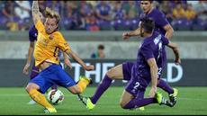 Fiorentina secara mengejutkan berhasil meraih kemenangan 2-1 atas Barcelona dalam ajang International Champions Cup (ICC) 2015 di Stadion Artemio Franchi, Senin (3/8/2015) dini hari WIB.