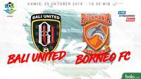Liga 1 2018 Bali United Vs Pusamania Borneo FC (Bola.com/Adreanus Titus)