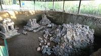 Situs Candi Losari yang serius diekskavasi dan direkonstruksi. (foto: Liputan6.com / edhie prayitno ige)