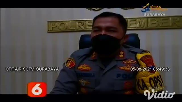 Polres Jember meringkus pelaku teror yang memberikan makanan ringan wafer yang dicampur serpihan benda tajam kepada anak-anak di Kabupaten Jember, Jawa Timur.