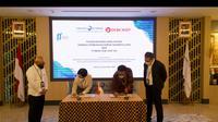 LPEI dan PT Bank OCBC NISP Tbk menandatangani kerja sama penjaminan kredit modal kerja (Dok: HUmas)