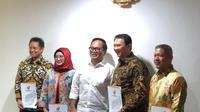 Basuki Tjahaja Purnama (Ahok) resmi diangkat menjadi Komisaris Utama PT Pertamina (Persero). (Istimewa)