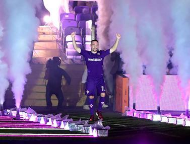 Gabung Fiorentina, Franck Ribery Disambut Meriah