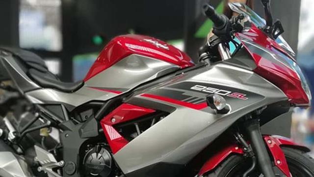 Mengintip Warna Baru Kawasaki Ninja 250 Sl Harga Berubah