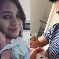 Pasangan rumah tangga Acha Septriasa dan Vicky Kharisma baru saja dikaruniai seorang anak.  Acha baru saja melahirkan anak pertamanya pada 20 September 2017 di Royal Hospital for Women Sydney, pukul 12.14 waktu NSW. (Instagram/septriasaacha)