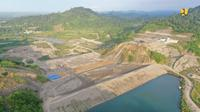 Kementerian PUPR tengah menyelesaikan pembangunan Bendungan Rukoh di Kabupaten Pidie, Provinsi Aceh (dok: PUPR)