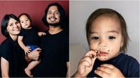 Potret gemas Kiko Sihombing anak Petra dan Aquila Firrina. (sumber: Instagram/petrasihoming)