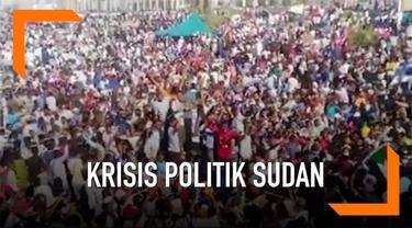 Kondisi Sudan terus memanas, tentara sudah membunuh lima orang demonstran dalam aksi unjuk rasa hari Minggu (7/4) kemarin.