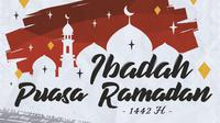 Piala Menpora -  Ilustrasi Ramadan Nuansa Sepak Bola (Bola.com/Adreanus Titus)