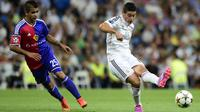 Gelandang Real Madrid James Rodriguez (Javier Soriano/AFP)