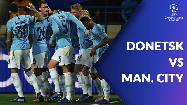 Berita video Manchester City menang telak 3-0 atas Shakhtar Donetsk