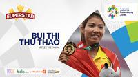 Superstar Bui Thi Thu Thao (Bola.com/Adreanus Titus)