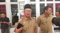 Walikota Samarinda Syahrie Jaang masuk dalam kategori Orang Dalam Pemantauan (ODP) setelah baru pulang dari daerah terjangkit Covid-19.