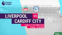 Premier League 2018-2019 Liverpool Vs Cardiff City (Bola.com/Adreanus Titus)
