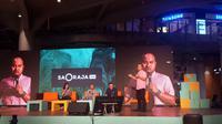 Peluncuran Saoraja Hub di Nipah Mal, Makassar (Liputan6.com/Yulia Lisnawati)