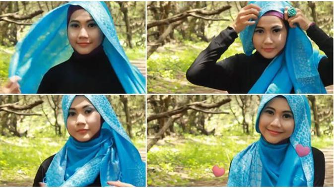 Video Tutorial Hijab Pashmina Mudah Tanpa Jarum Dan Peniti Beauty Fimela Com