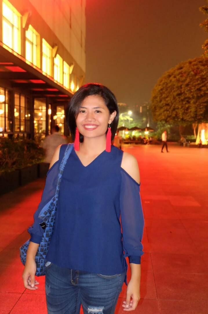 Vicka, Jurnalis. (foto: dok. pribadi)