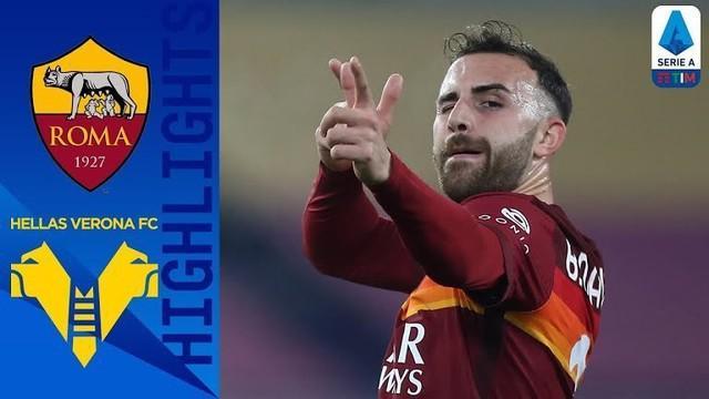 Berita video highlights laga pekan ke-20 Liga Italia 2020/2021 antara AS Roma melawan Hellas Verona yang berakhir dengan skor 3-1, Senin (1/2/2021) dinihari WIB.