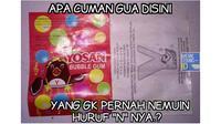 Meme permen yosan (Sumber: memecomic)