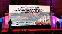 Konferensi ini mengangkat topik Populasi dan Kesehatan di Asia Tenggara dan dihadiri oleh lebih kurang 250 orang dalam dan luar negeri.