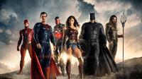 Tampilan para superhero DC di film Justice League yang rilis 2017. (Warner Bros)