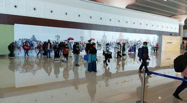 Bandara Internasional Yogyakarta (YIA) di Kulon Progo beroperasi secara penuh. (Dok AP I)