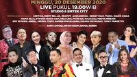 Kiss Awards 2020 Malam Terakhir di Indosiar pada Minggu (20/12/2020) malam. (Indosiar)