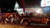 Lokasi penembakan misterius yang menyasar pedagang nasi pecel di Desa Cigugur, Kabupaten Kuningan, Jawa Barat. (Liputan6.com/Panji Prayitno)