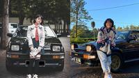 Cinta Kuya dan mobil kesayangan (Sumber: Instagram/cintakuya)