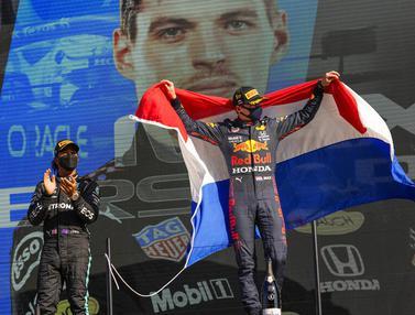 Foto: Tampil di Kandang Sendiri, Max Verstappen Rajai F1 GP Belanda