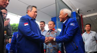 SBY Hadiri Rapat Pleno Partai Demokrat