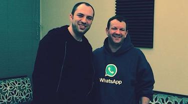 Pendiri WhatsApp Dulu Pernah Ditolak Kerja di Facebook