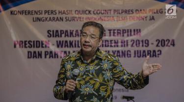 Quick Count LSI, Jokowi-Maruf Unggul