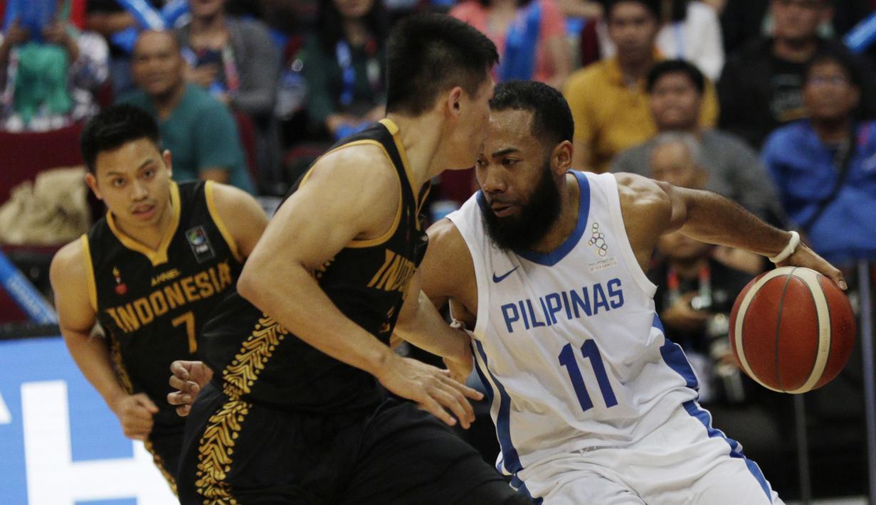FOTO Kalah Dari Filipina Basket Putra Tersingkir Di Babak