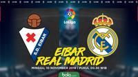 La Liga - Eibar Vs Real Madrid (Bola.com/Adreanus Titus)