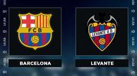Liga Spanyol: Barcelona vs Levante. (Bola.com/Dody Iryawan)