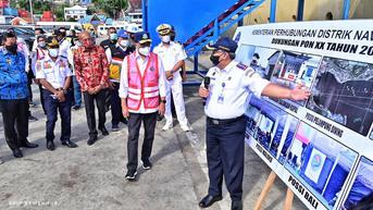 Menhub Pastikan Kesiapan Transportasi di PON XX Papua