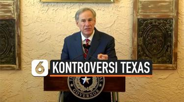 Gubernur Texas, Greg Abbott memutuskan untuk seratus persen membuka kembali operasional bisnis di Texas dan menghapuskan mandat penggunaan masker meski kematian akibat virus corona di wilayahnya tembus 42 ribu orang.