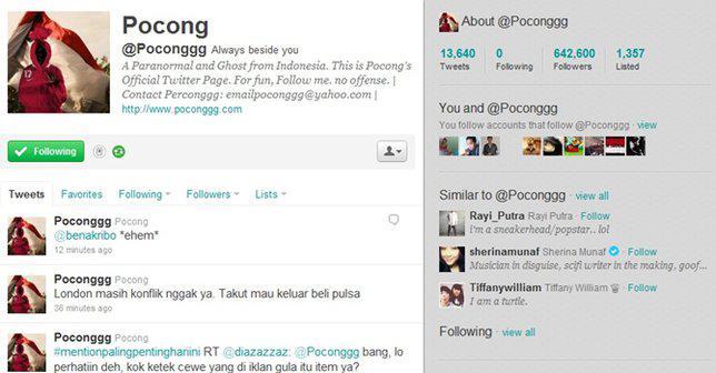 Akun anonim yang dibuat oleh Arief mendapat respon positif dari netizen saat itu./Copyright Twitter