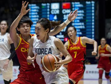 Basket : China Vs Korea Bersatu